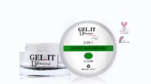 3-in-1 Builder Gel Clear 30g