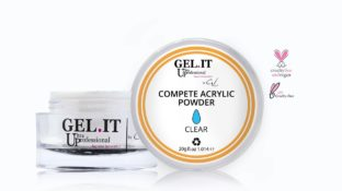 Compete Acrylic Powder White 20g