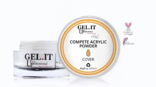 Compete Acrylic Powder Cover Salmon 20g