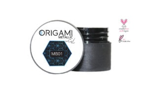 Origami Gel Metalic Blue