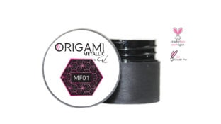 Origami Gel Metalic Pink