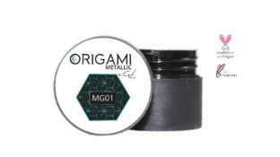 Origami Gel Metalic Green