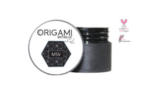 Origami Metalic Silver